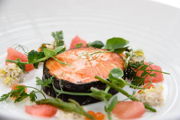 ballotine of salmon